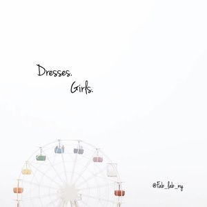Dresses for girls.